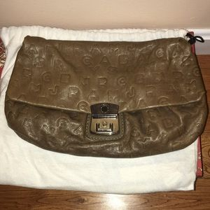 Marc by Marc Jacobs Logo Clutch with DustBag